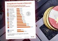 Stor undersökning visar: Österrikare mest skeptiska till kryptovalutor i Europa