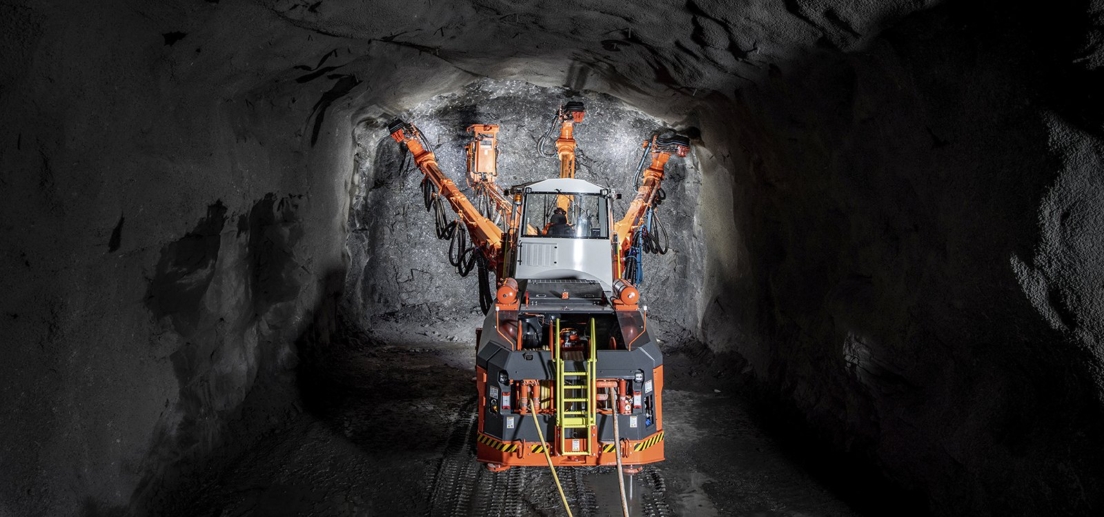 The new RD535 rock drill cuts energy consumption by up to 20 percent.