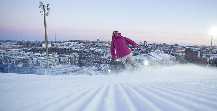 Skidåkarna i de svenska räddar Skistars affärer. Foto: Kalle Hägglund