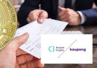 Arcane Crypto erbjuder anställda lön i bitcoin – vill hjälpa även andra företag