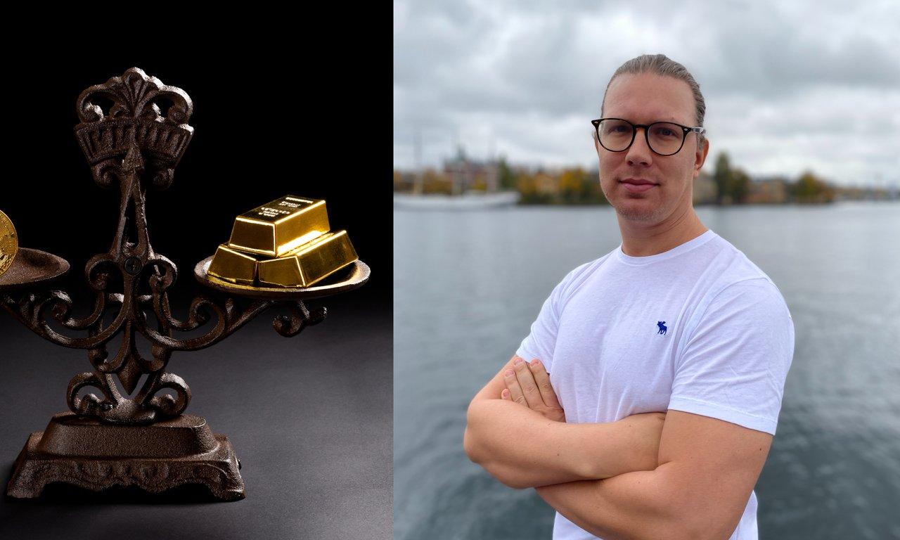 Martin Byström: Antingen är bitcoin sjukt undervärderat eller så är guld sjukt övervärderat.