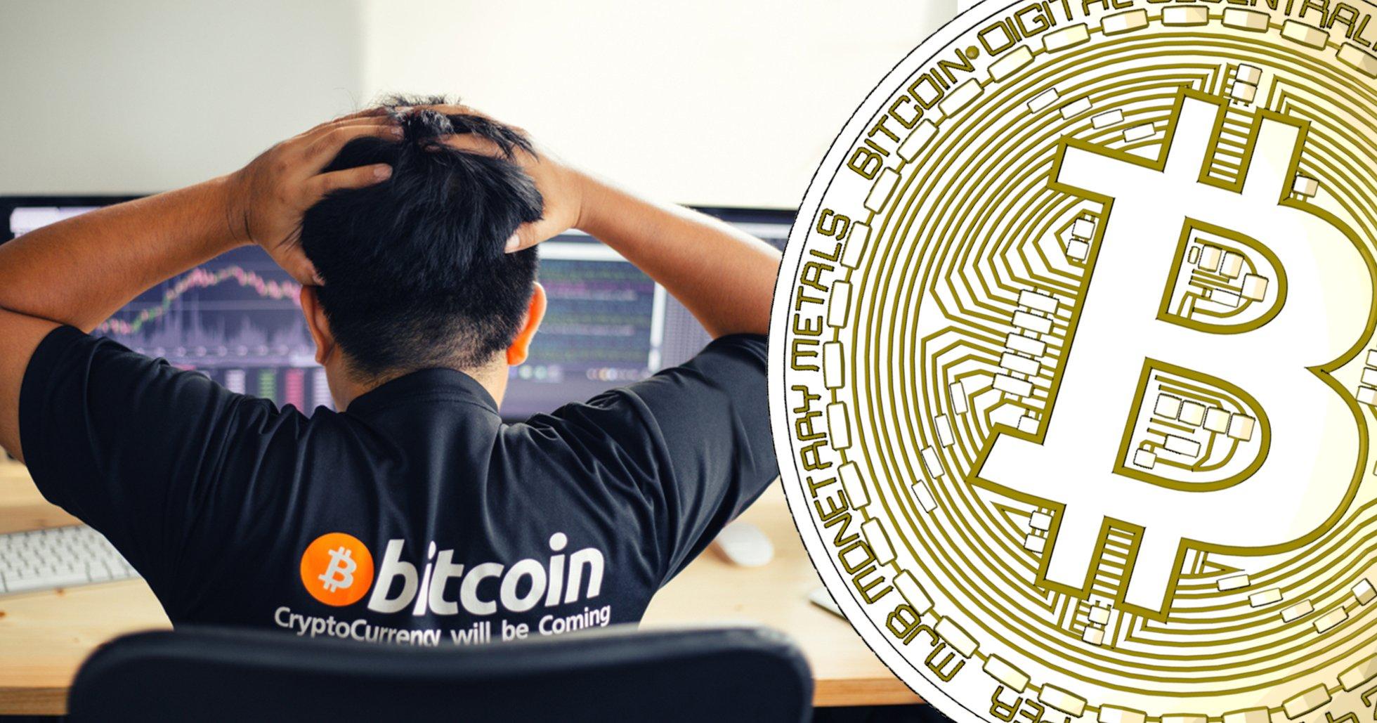 Jättebörsen kraschade – då störtdök bitcoin