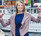 Snart dags. Sara Selheden tävlar i Amsterdam i slutet av november.