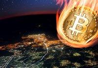 Bitcoinpriset föll med 15 procent på 20 minuter i natt: