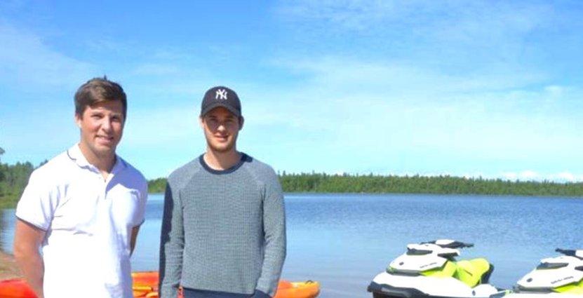 I höstas bestämde sig Viktor Brännmark och Sebastian Jonsson för att starta eget företag och ge oss in i besöksbranschen.