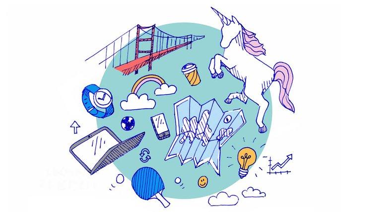 Alla snackar startups!