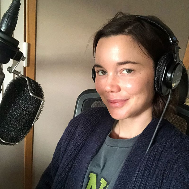 """Hedda Stiernstedt om arbetet som ljudboksinläsare: """"Vill behålla en nerv"""""""