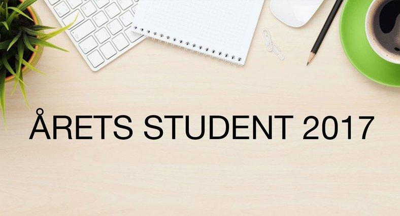 Ansök till Årets Student 2017 –en rivstart i karriären