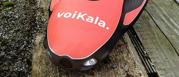 """Voi donated a """"little helper"""" for divers in Turku and encouraged Turku residents to clean the riverbank in colla..."""