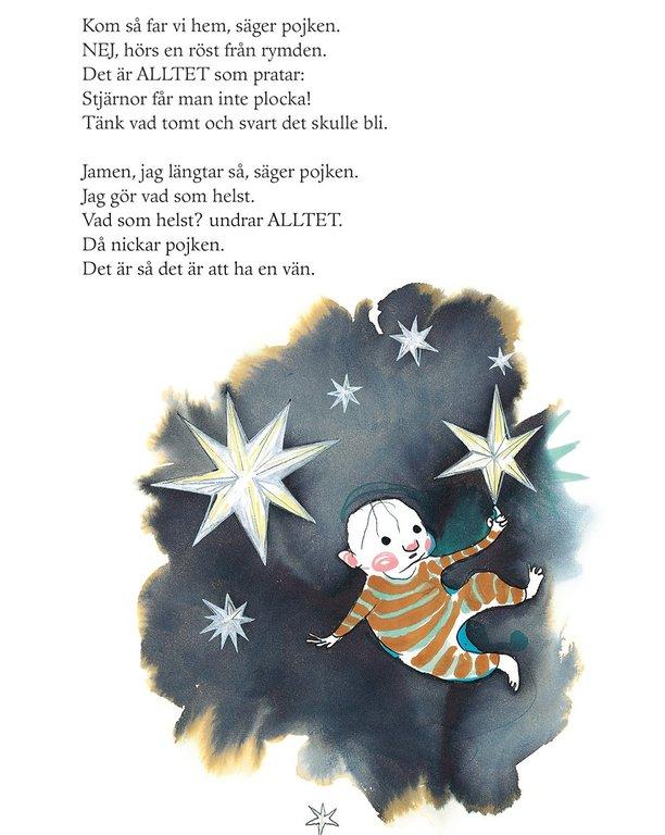 Ur <em>En stjärna vid namn Ajax</em> av Stina Wirsén