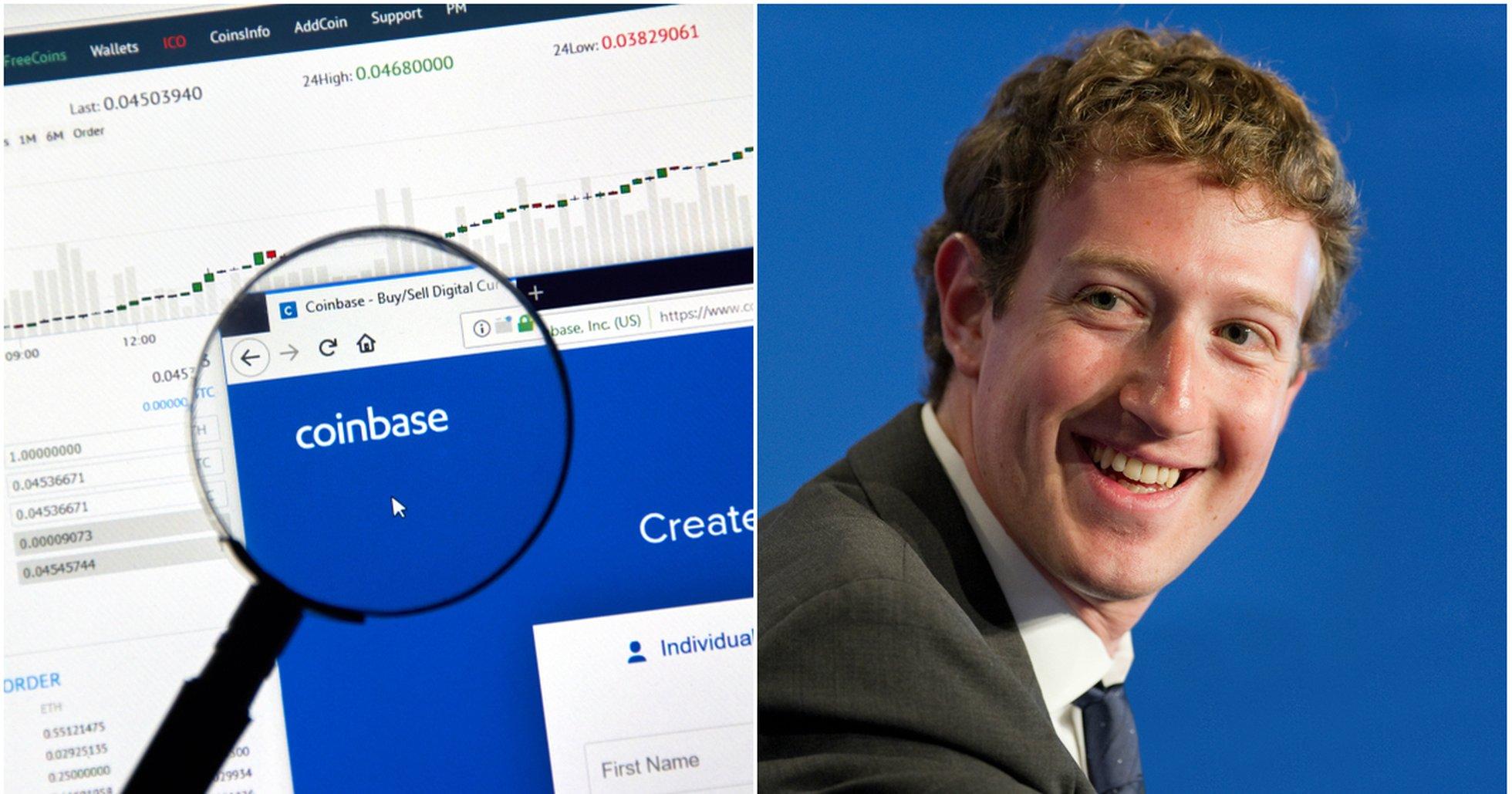 Kryptodygnet: Små kursrörelser och rykten om att Facebook vill köpa Coinbase.