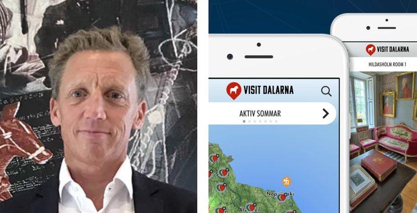 Jonas Rosén, vd på Visit Dalarna.