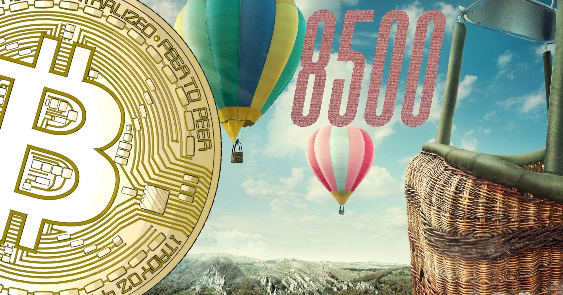 Bitcoinpriset får ny fart igen – har ökat över tio procent under senaste dygnet.