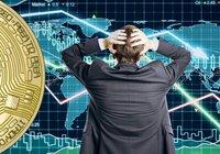 Bitcoinpriset faller under 8 000 dollar medan världens börser störtdyker