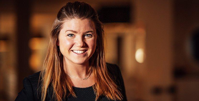 Josefine Gudmundson, ny vd för Comfort Hotel Göteborg.  Foto: Nordic Choice Hotels