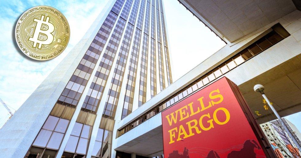 Amerikanska storbanken Wells Fargo startar bitcoinfond