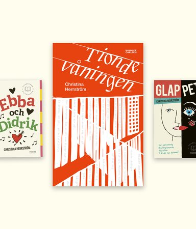 Minns du Ebba & Didrik? Nu är författaren tillbaka  – med en ny ungdomsbok