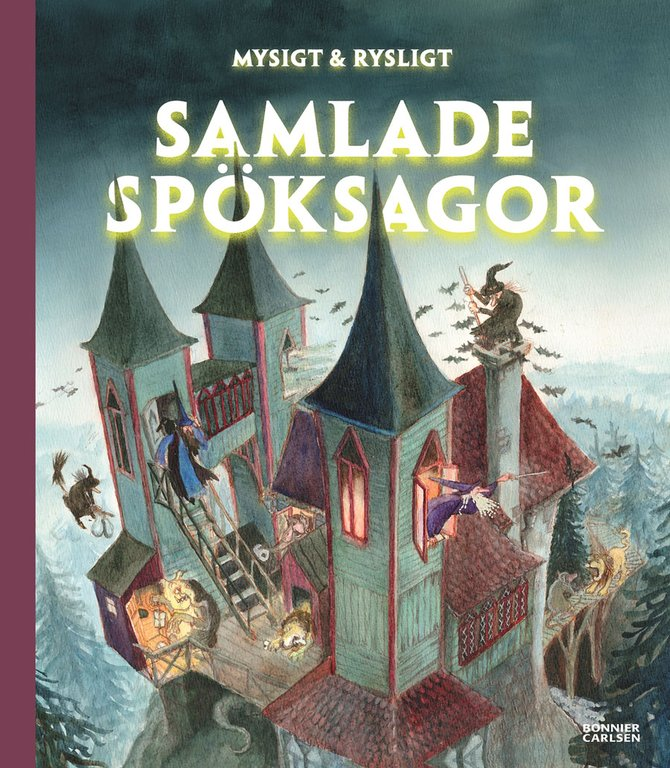 14 läskiga barnböcker för alla åldrar
