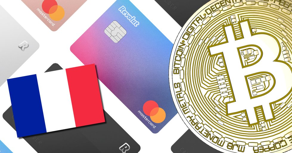 Revolut has annonced a new crypto debit card and France cuts the taxes.