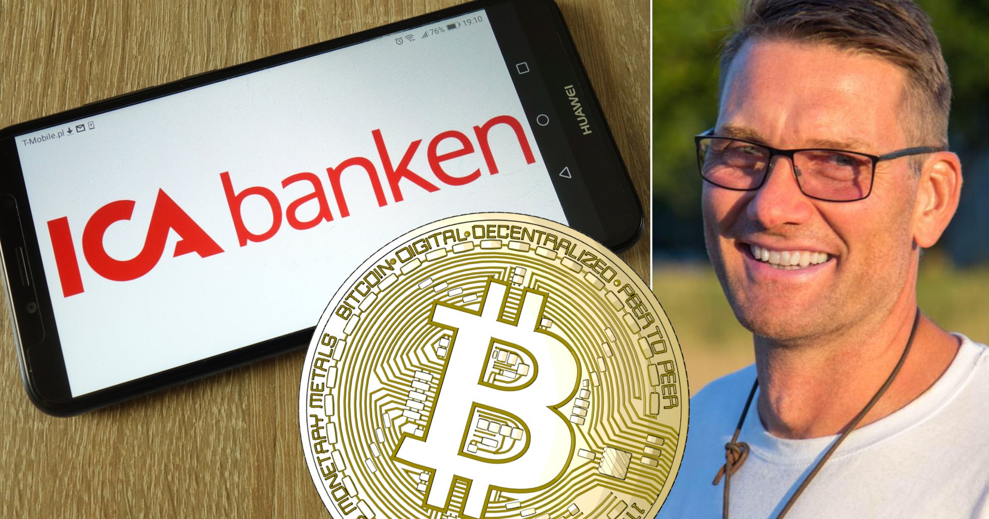 Johan, 47, ville ta ut pengar från Coinbase – då gick allt snett.