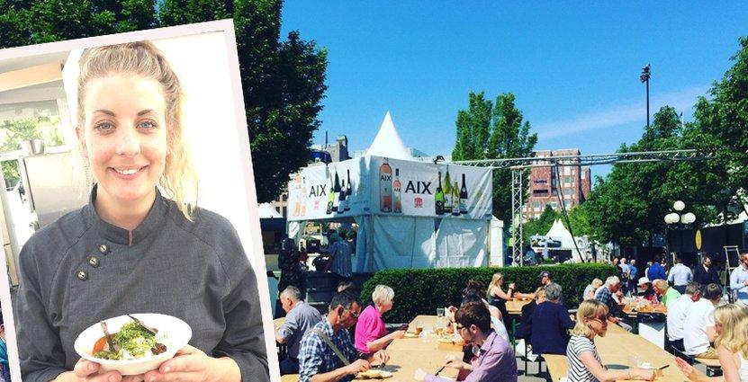 Hela 350 000 besökare brukar lockas till festivalen med stora kocknamn som Frida Ronge och Tommy Myllymäki.