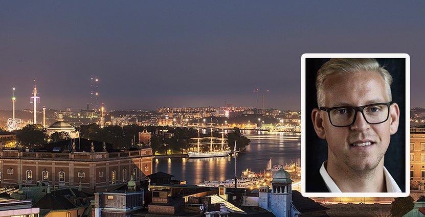 Som ny vd för Tak i Stockholm har Daniel Franzén stora planer för verksamheten. Foto: Tak