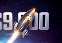Bitcoin rallies past $9,000 – but is heavily volatile