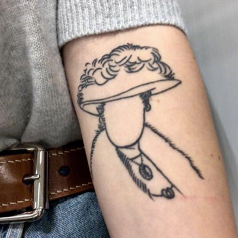 24 magiska litterära tatueringar