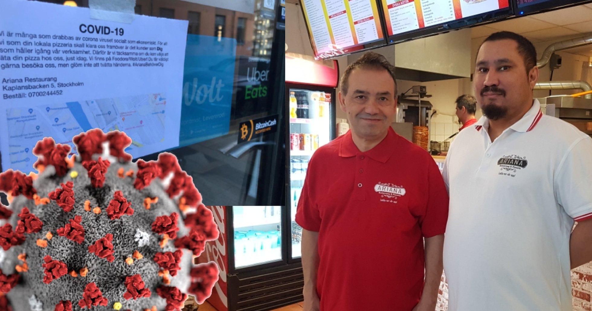 Swedish bitcoin pizza place risks bankruptcy due to coronavirus.