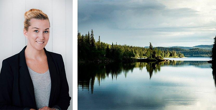 Teres Gärdin , ny vd för Jämtland Härjedalen Turism. Foto:JHT/Sandra Lee Pettersson