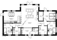 Se planritning för Villa Ytterskog