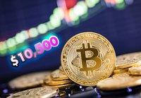Bitcoin når 10 500 dollar – priset ökade 1 000 dollar på 30 minuter
