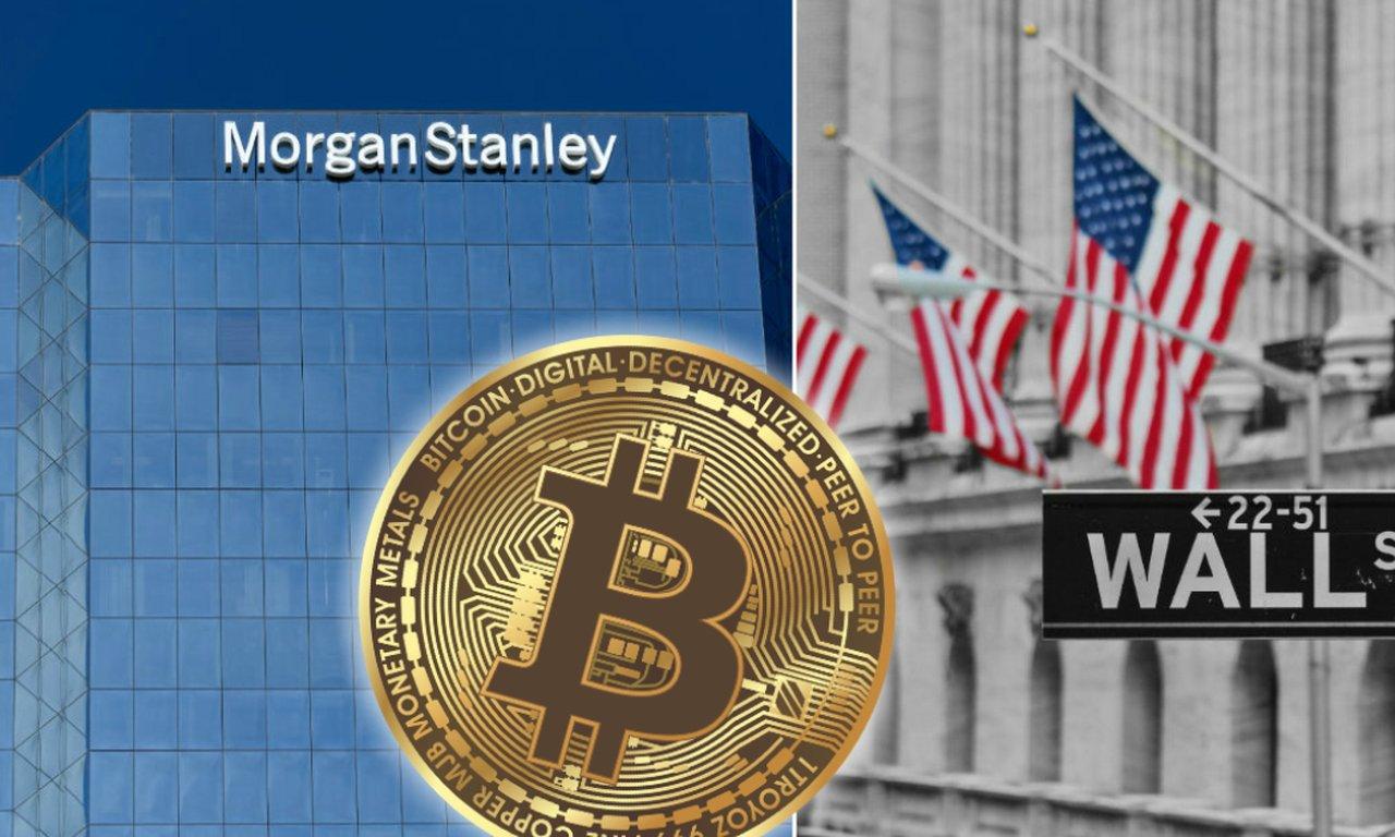 Efter de rika kundernas krav – nu plockar Morgan Stanley in bitcoin.