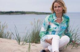 """Elisabeth Haglund: """"På sommaren jobbar jag mer"""""""