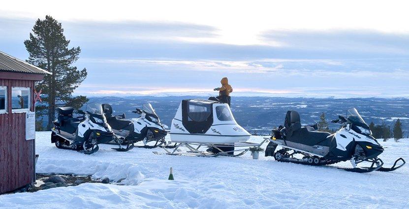 Om 2,5 år ska Himmelfjälls skidanläggning stå redo att ta emot gäster.