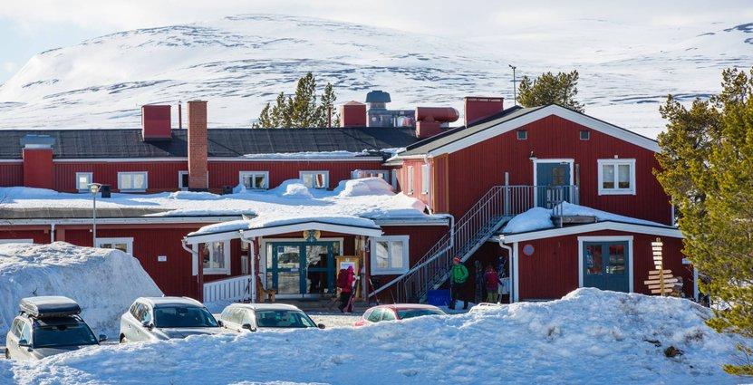 STF:s fjällstation i Grövelsjöfjällen har problem med att gästerna tappat tron på vintern. Foto: Svenska Turistföreningen