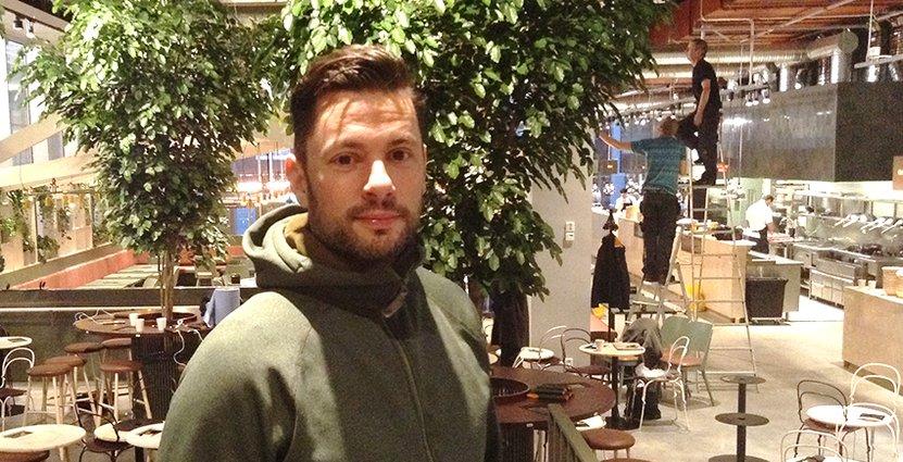 Danyel Couet på den nya restaurangen Mother som slår upp portarna om ett par dagar.