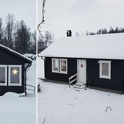 Fjällstuga i Tärnaby