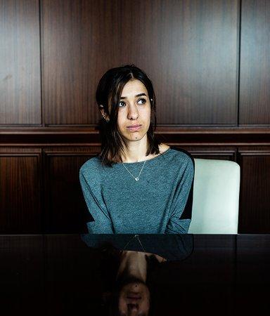 Fredspristagaren Nadia Murad såldes som sexslav till IS – vi har träffat henne