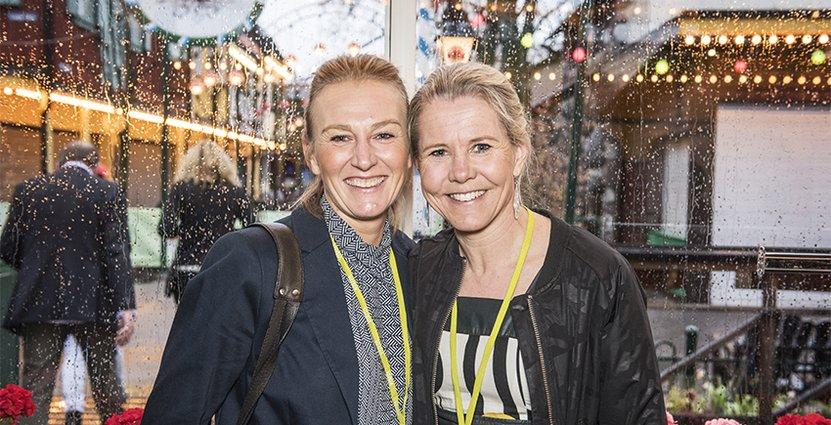 Cecilia Lind, Välliste Högfjällshotell och Titti Rodling, vd SLAO.
