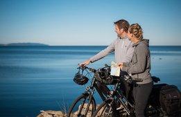 Kattegattleden blir matmecka för cykelturister