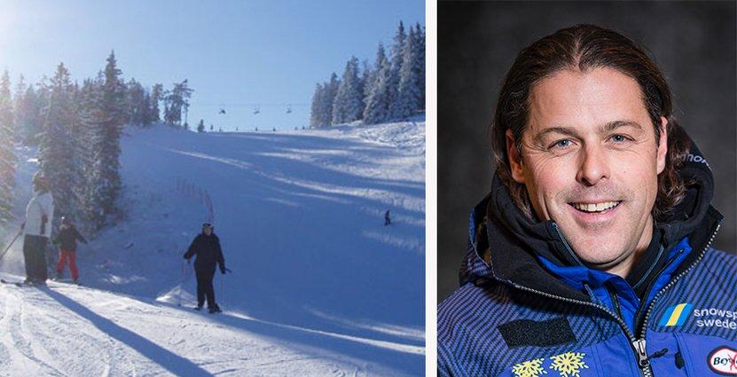 Johan Larson kommer senast från rollen som anläggningschef för Orsa Grönklitt. Foto: Hovfjället