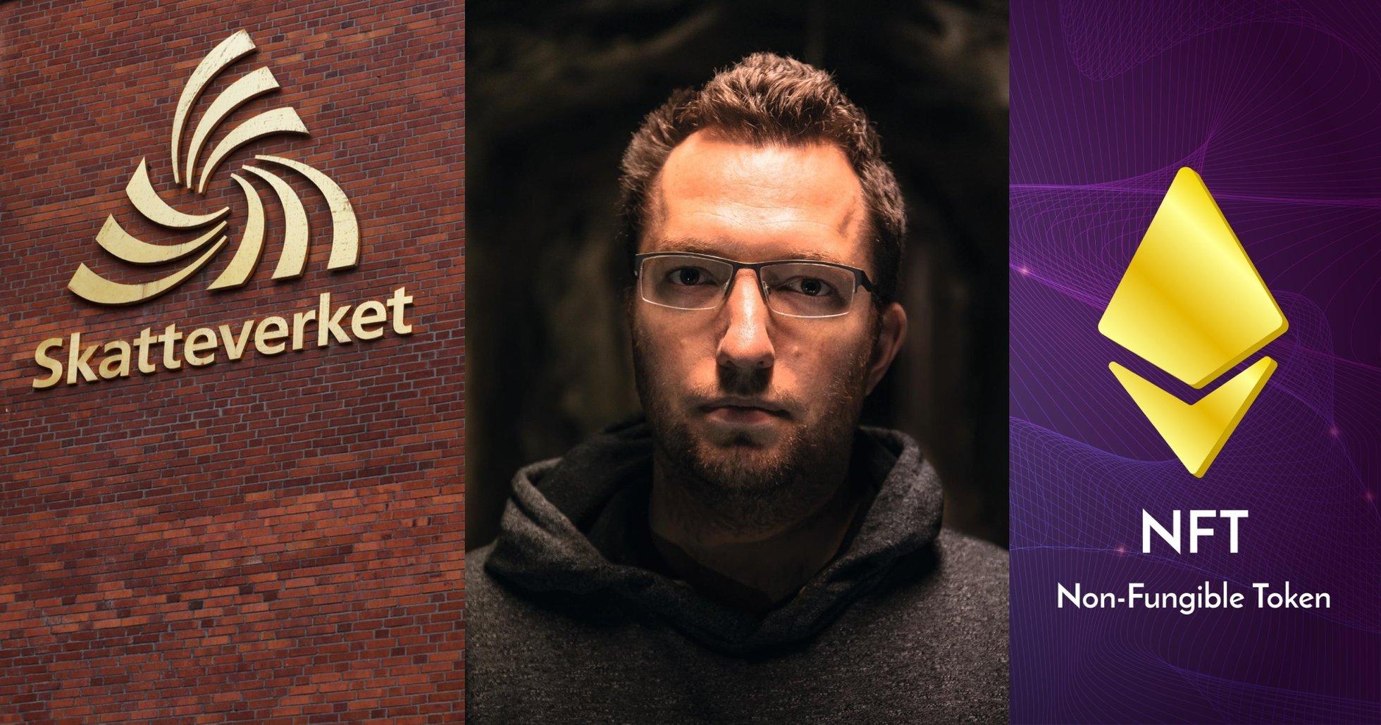 Svensk bitcoinprofil vill finansiera sin kamp mot Skatteverket med NFT:er