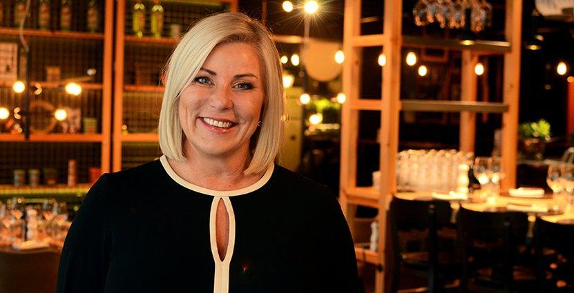Virpi Törnroth blir ny hotelldirektör för Clarion Hotel Amaranten.  Foto: Pressbild