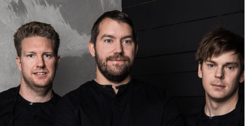 Krögartrion Peter Andersson, Fredrik Johnsson och<br />  Johan Bengtsson meddelar att Volt stänger för gott den 20 december. Foto: Pressbild