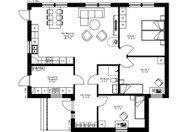 Se planritning för Villa Dynäs