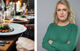 "Socialministern: ""Våga gå på restaurang"""