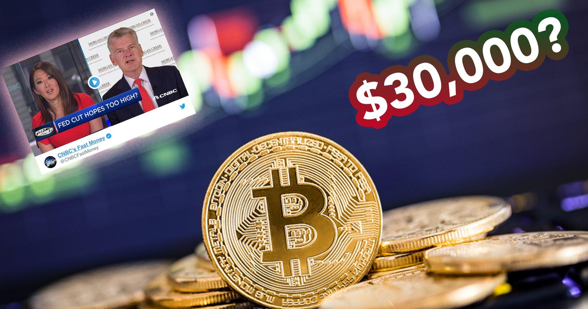 Finansprofilen: Nu går bitcoin mot ett pris på 30 000 dollar
