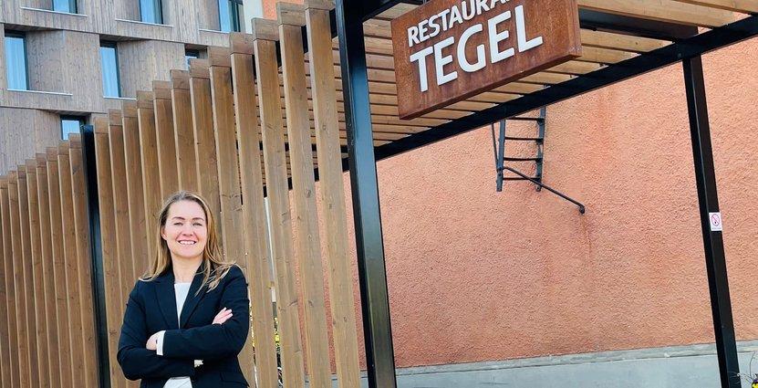 Patricia Berndt, hotelldirektör Scandic Strömmen. Foto: Pressbild