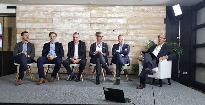 Paneldebatt under Amadeus konferens i maj 2019 Anders Johansson